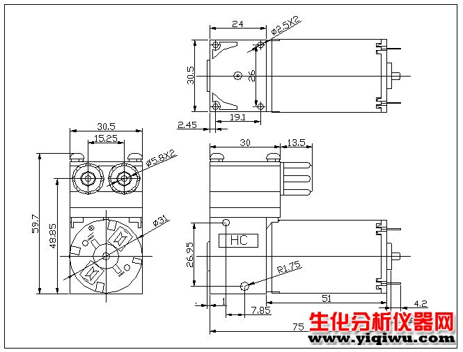 气泵电路图接线图
