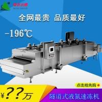 隧道式液氮速冻机食品速冻机