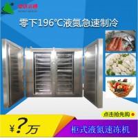 柜式液氮速冻机小龙虾速冻机