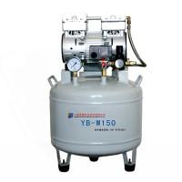 小型医用空气压缩机一托二无油空压机YB-W150