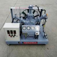 150公斤活塞式无油高压氧压缩机 勇霸无油气体增压机