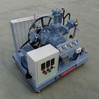 勇霸1立方无油高压氧气泵 小型150公斤活塞式无油高压氧气泵