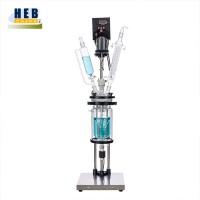 小型1L双层玻璃反应釜HEB-1L 型号可定做