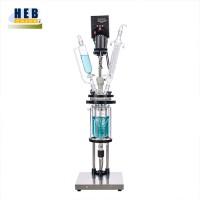 实验室2L双层玻璃反应釜HEB-2L 型号可定做