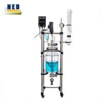 中型10L双层玻璃反应釜HEB-10L 型号可定做