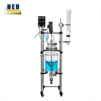 中型30L双层玻璃反应釜HEB-30L 型号可定做