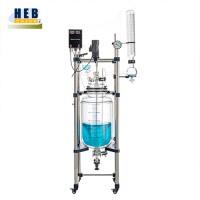 50L双层玻璃反应釜HEB-50L 型号可定做